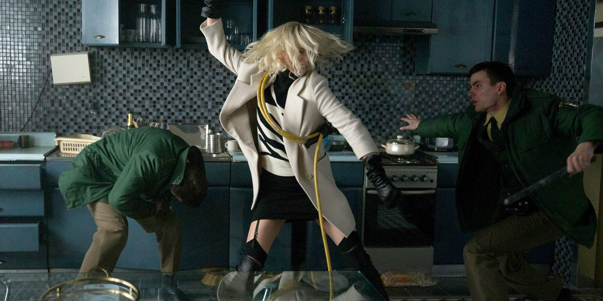 Atomic Blonde is Ok, but Charlize Theron Is One BadAss Female