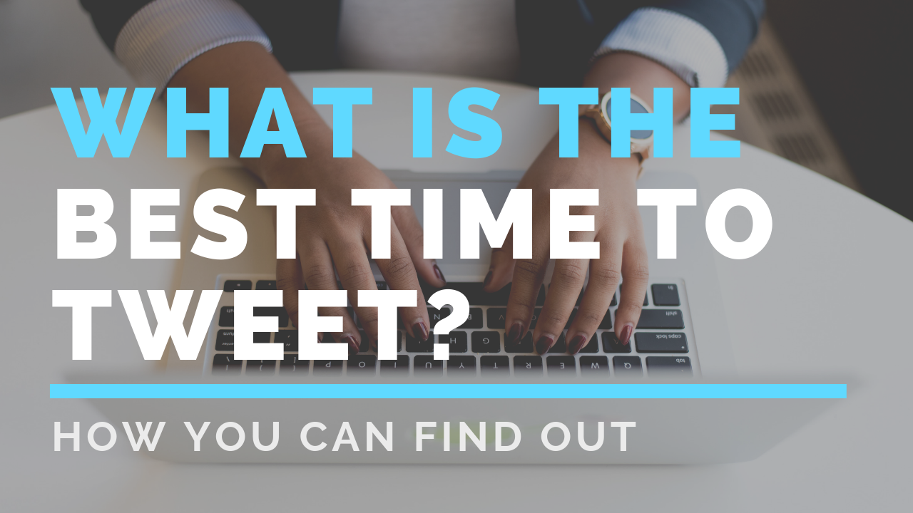 What is the best time to tweet on twitter?