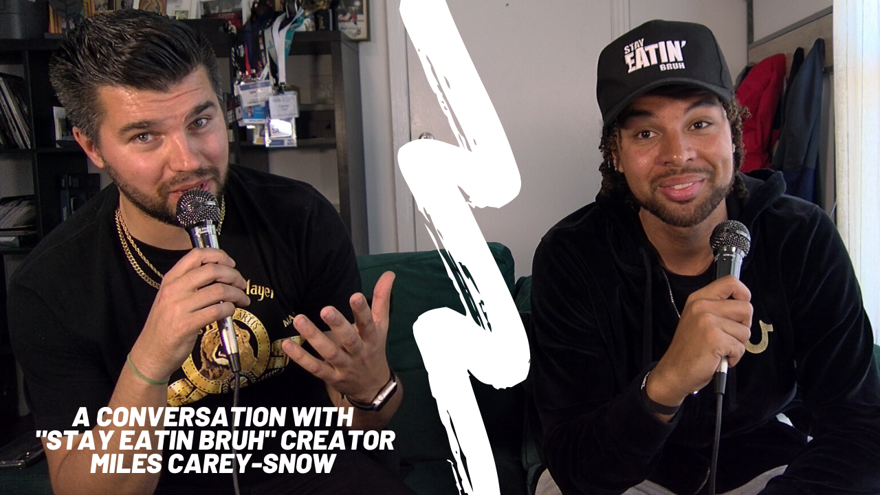 """A conversation with """"Stay Eatin Bruh"""" creator Miles Carey-Snow"""
