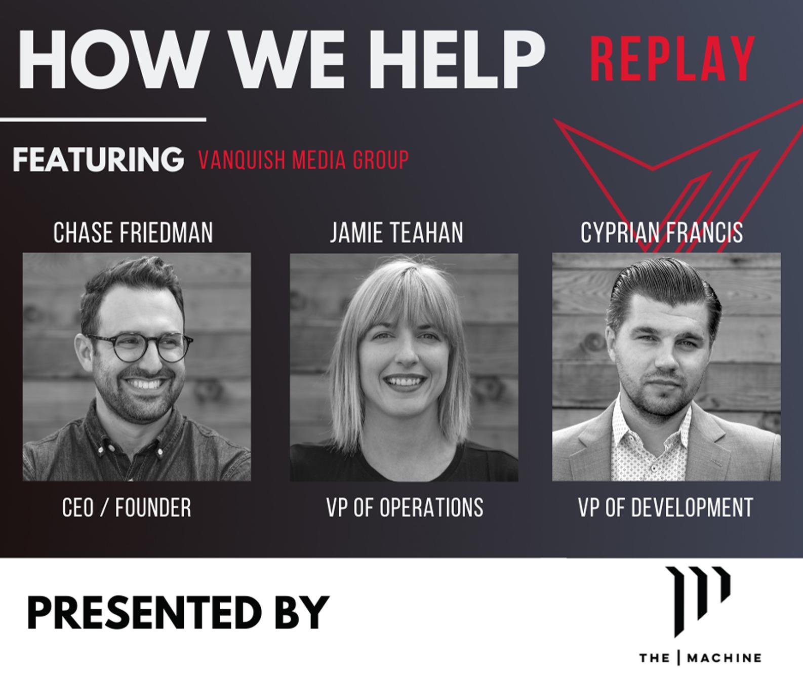 How We Help Webinar Replay