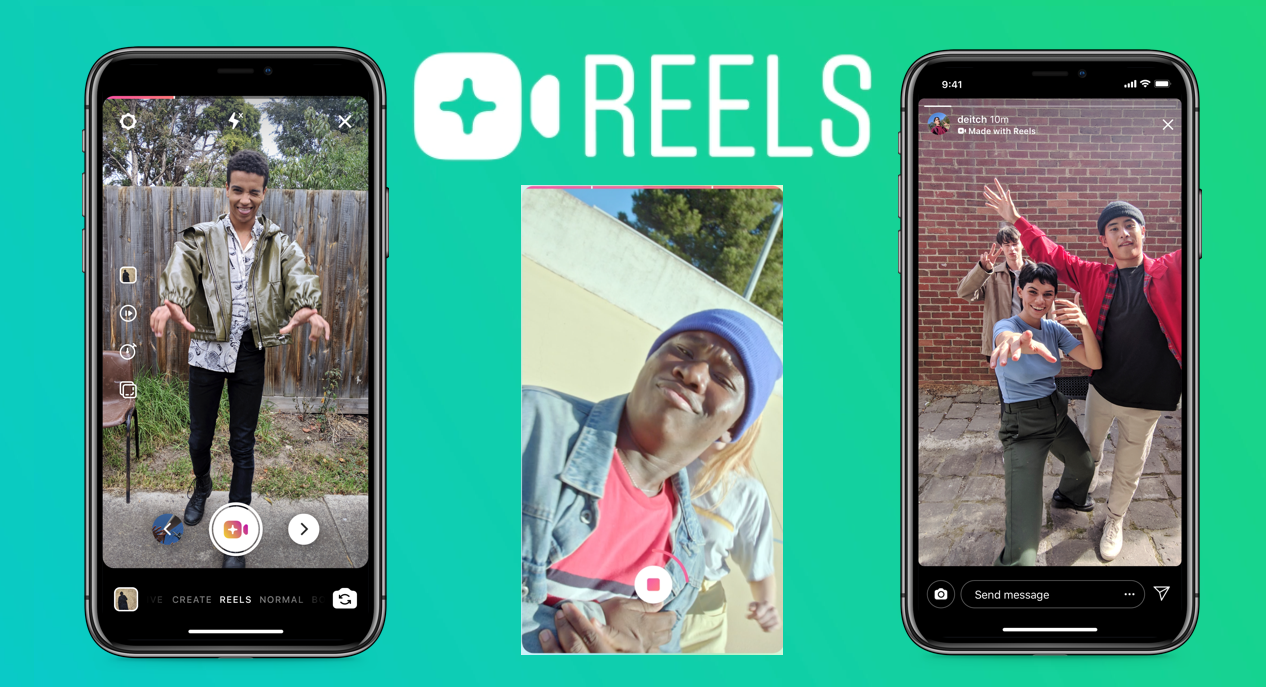 """Facebook's New Stories Feature """"REELS"""" Plans to Rival TikTok"""
